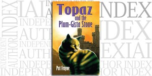 Topaz and the Plum-Gista Stone by Pat Frayne