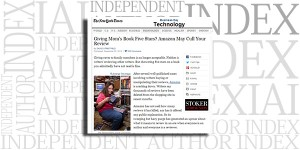 From The New York Times: Giving Mom's Book Five Stars? Amazon May Cull Your Review by David Streitfeld