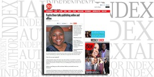 Faydra Deon featured on RollingOut.com