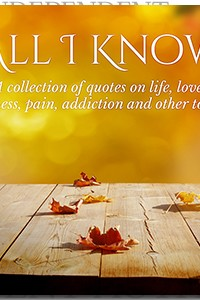 All I Know by Ashly Lorenzana on the Independent Author Index