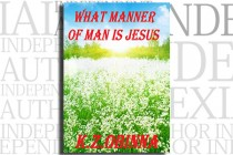 What Manner of Man is Jesus by K.Z. Obinna
