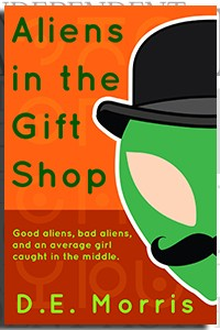 Aliens in the Gift Shop by D.E. Morris on the Independent Author Index