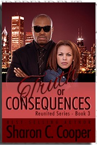 Truth or Consequences by Sharon C. Cooper on the Independent Author Index